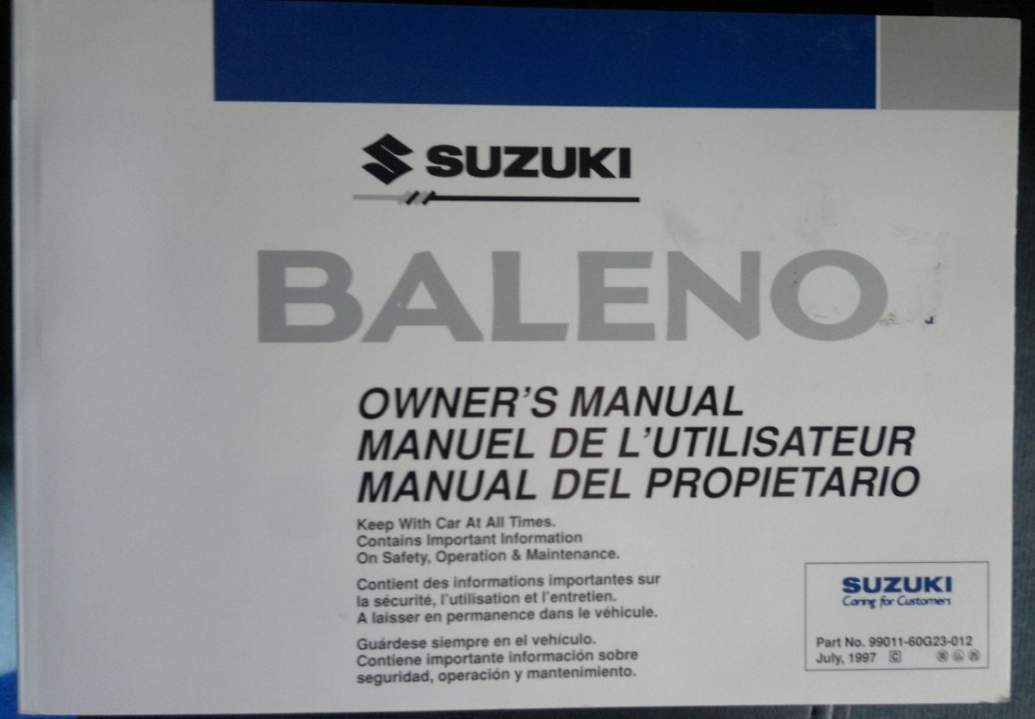 User Manuals and Owner