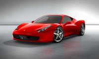 新しいフェラーリ458イタリア
