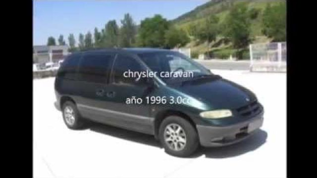 dodge caravan instelling 96