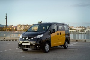 बार्सिलोना NV200 के लिए नई निसान टैक्सी