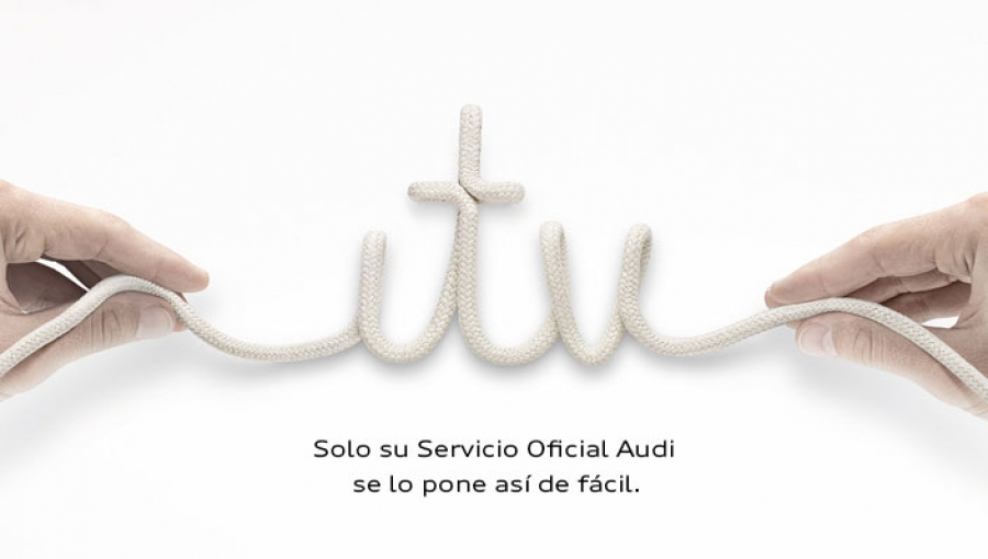 Audi despreocúpate take your car to the ITV