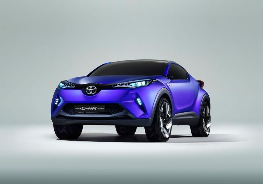 Paris Motor Show Toyota wprowadza pojęcie C-HR
