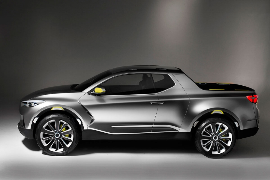 Descubra o protótipo Hyundai Santa Cruz