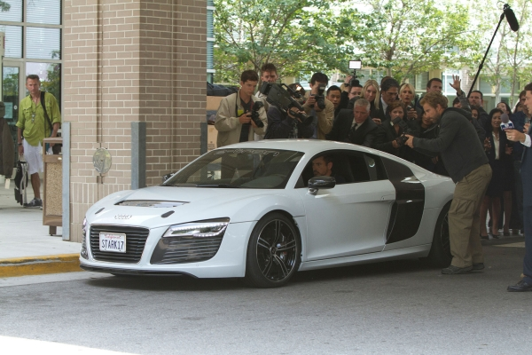 The Audi e-tron R8 new star in Iron Man 3