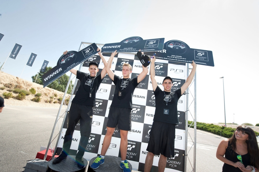 GT Academy 2013 Spain and has representatives