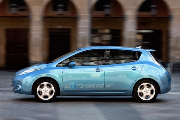 Nissan power elektrisk rörlighet i Europa