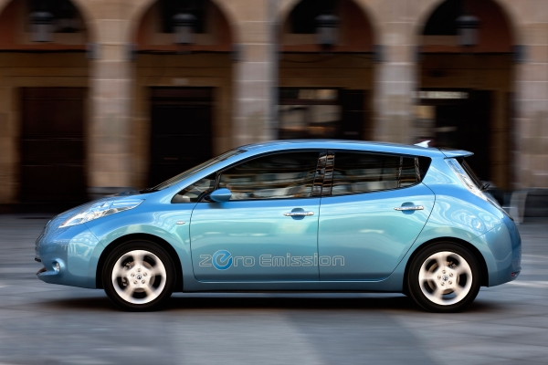 Nissan daya mobilitas listrik di Eropa