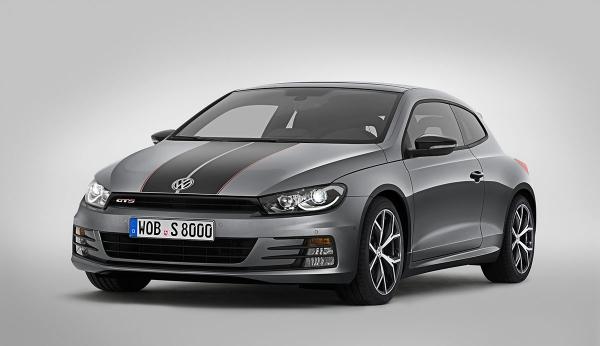Volkswagen prezentuje nowe Scirocco GTS w Szanghaju