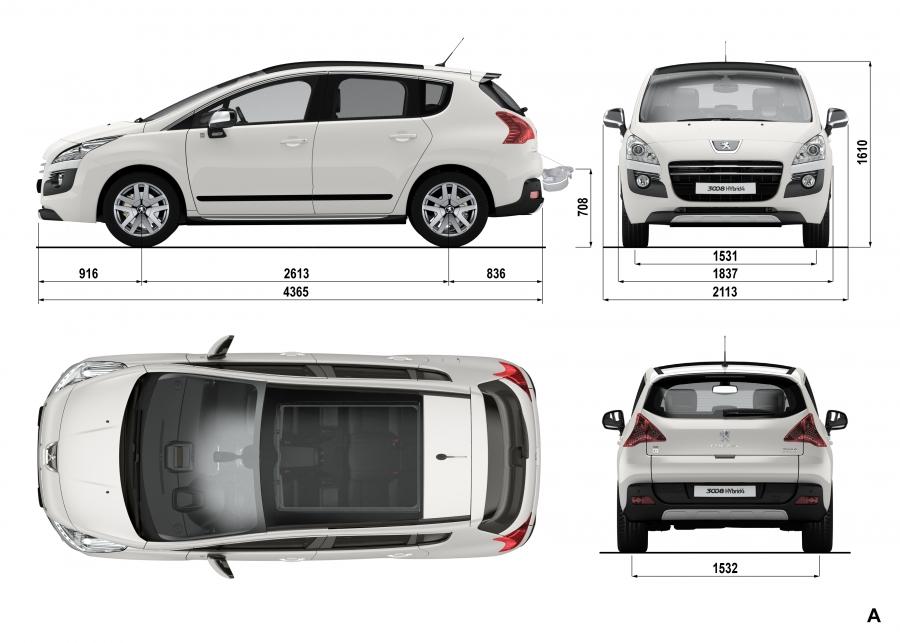 Ako ste klijent ima Peugeot Hybrid 4 po 200 € mjesečno