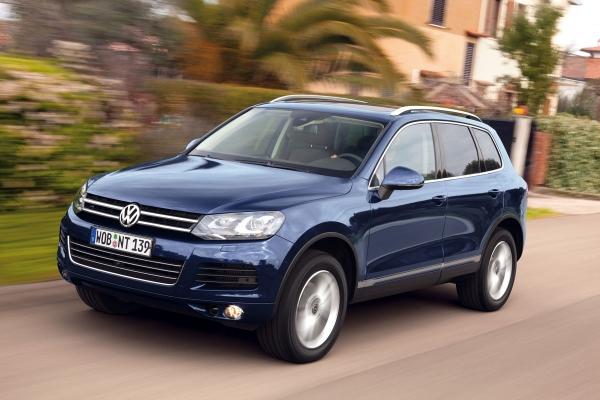 Präsentation des Volkswagen Touareg pur