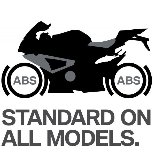 BMW Motorrad integrálja ABS alapfelszereltség minden kerékpár