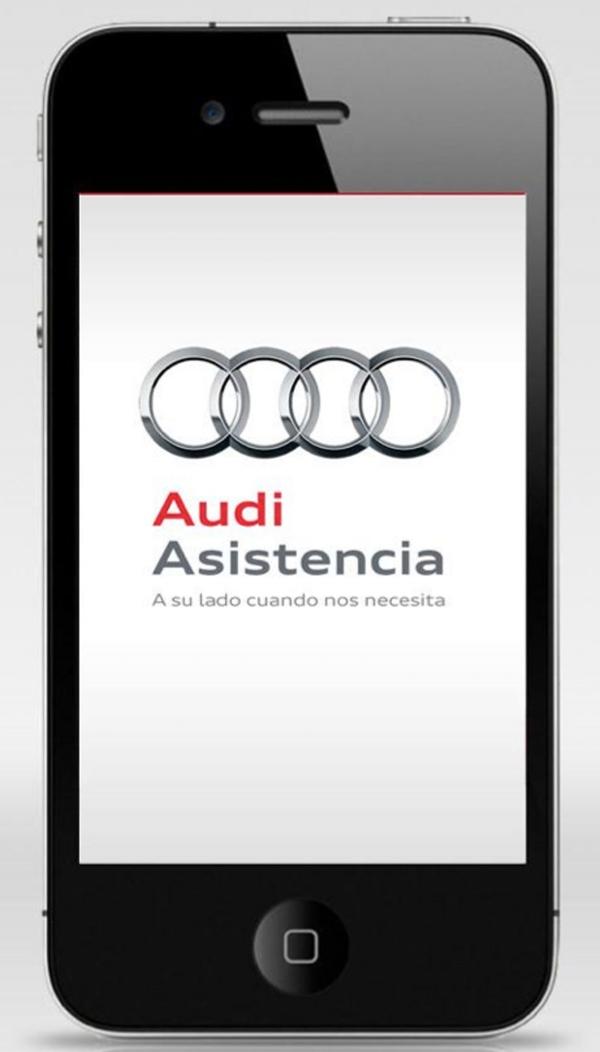 ऑडी तकनीकी सहायता प्रदान करता है कि एक स्मार्टफोन आवेदन की शुरूआत