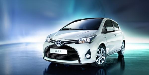 Новый Toyota Yaris 2014