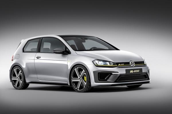 आप Volkswagen गोल्फ आर 400 के प्रोटोटाइप को देखा है?
