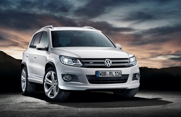 Volkswagen Tiguan R Baris hadiah