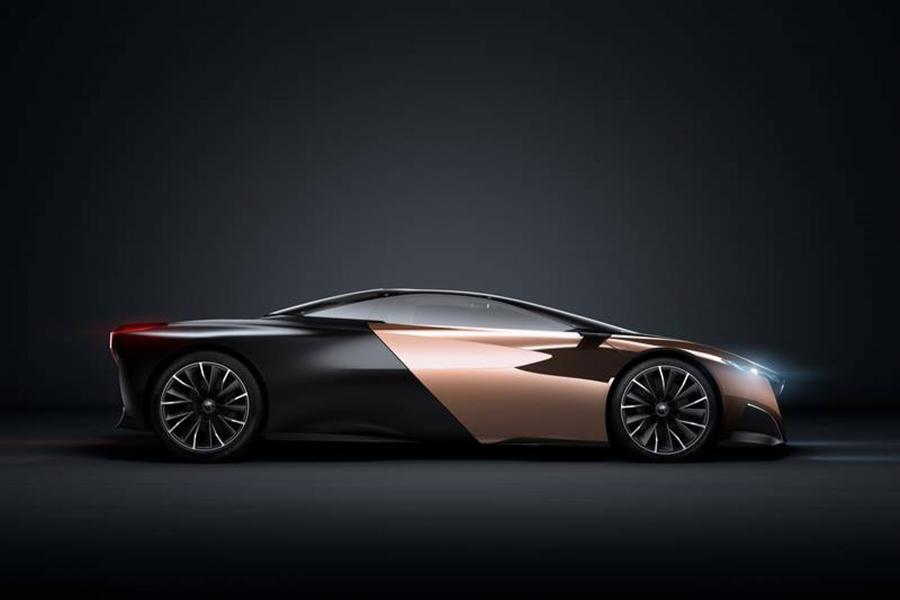Peugeot Onyx premiado com o Prêmio Louis Vuitton clássico