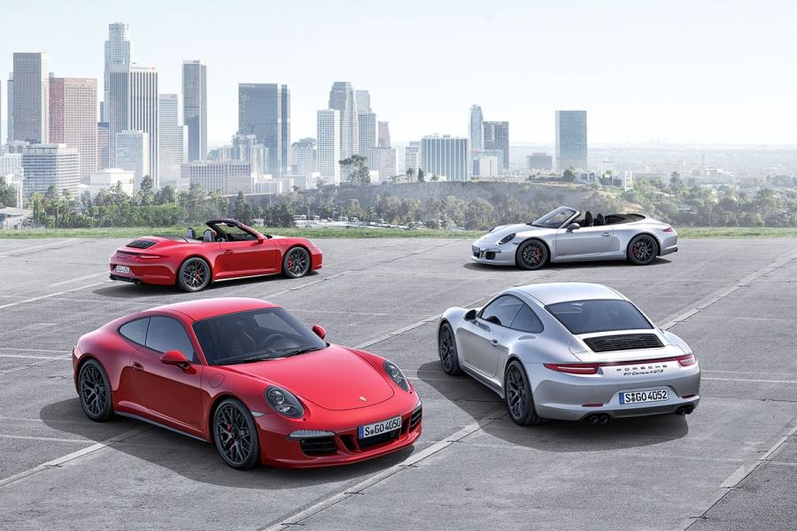 Porsche will present three new cars at the LA Auto Show