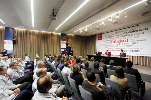 Nissan zal een nieuwe toerisme in Barcelona te vervaardigen