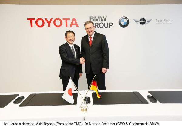 टोयोटा और बीएमडब्ल्यू नए सहयोग समझौतों पर हस्ताक्षर किए