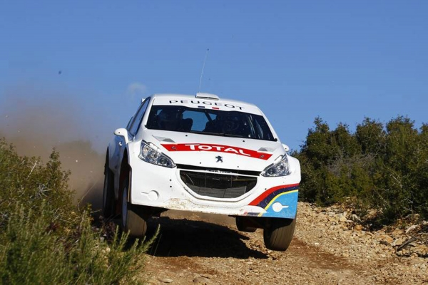 Peugeot 208 TYPE R5 starta testperioden