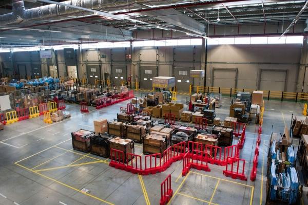 स्पेन में नई टोयोटा स्पेयर पार्ट्स रसद केंद्र