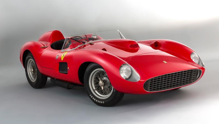 法拉利335S第二个最昂贵的汽车有史以来