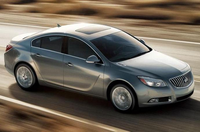 Buick objavljuje novi Buick Regal 2013