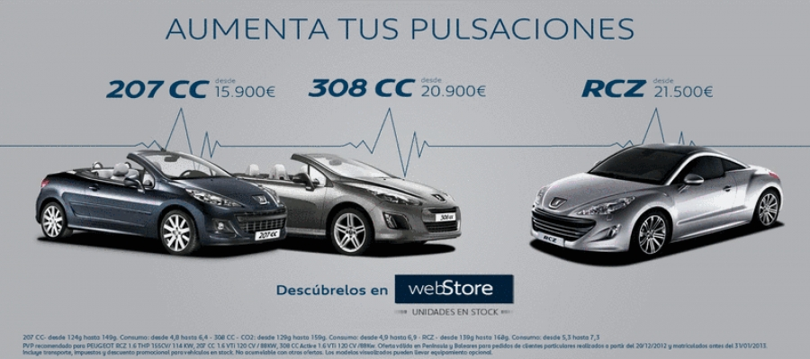 "Peugeot relaunches its discount campaign ""increases your heart rate"""