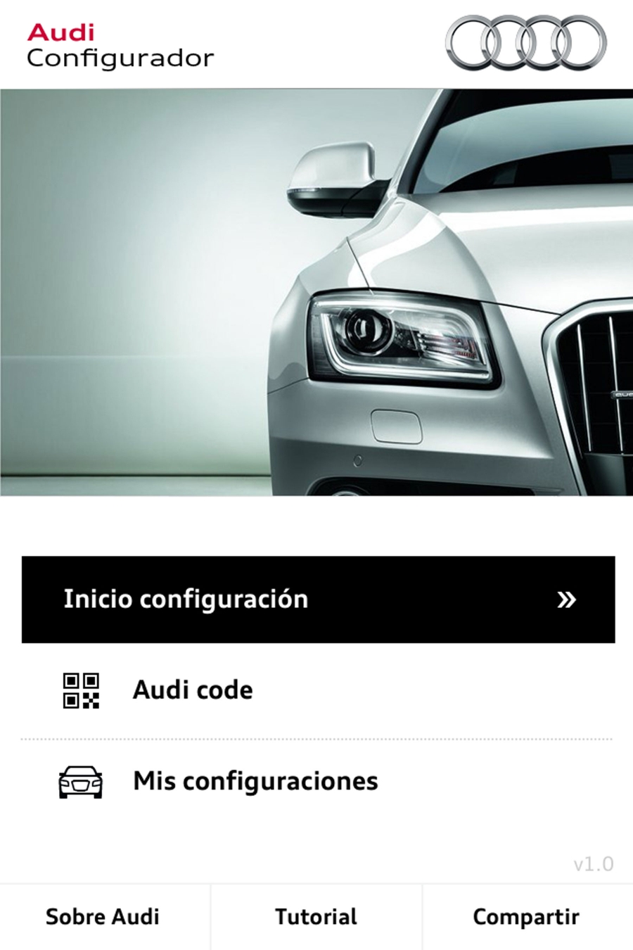 Audi launches new configurator app for Iphone and Ipad