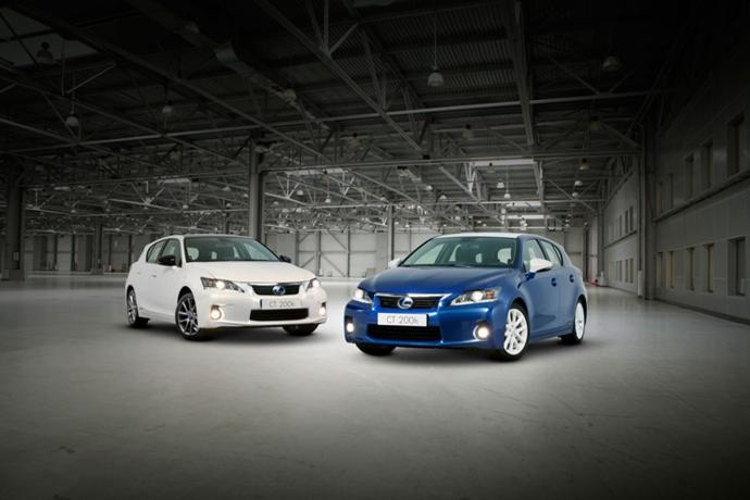 Breng een Lexus CT 200h door 200 € per maand!