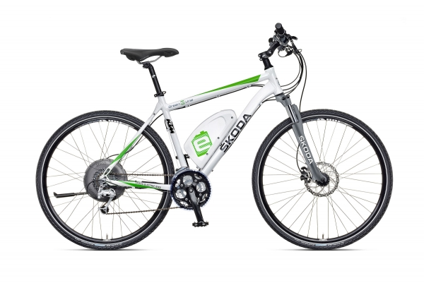 Škoda presented its first electric bicycle