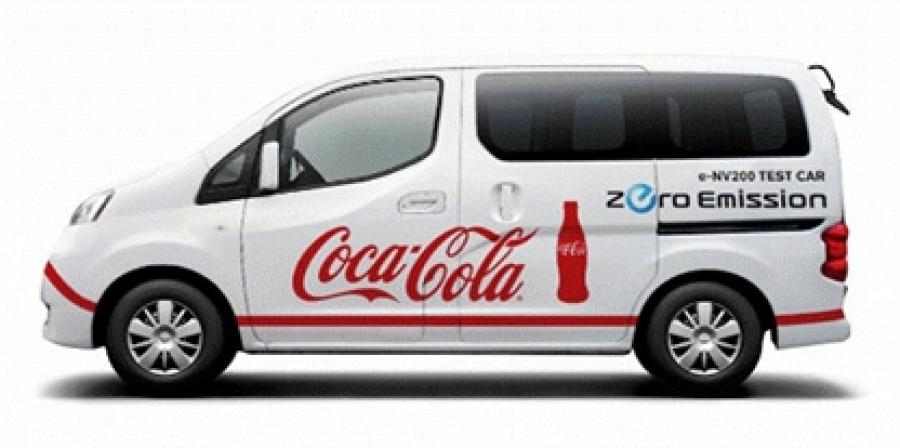 It will test the van coke e-NV200 Nissan before launch