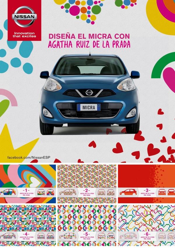 Nissan Micra special edition Agatha Ruiz de la Prada