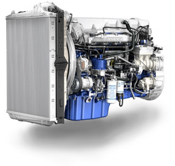 Volvo Trucks presented its Euro 6 engines