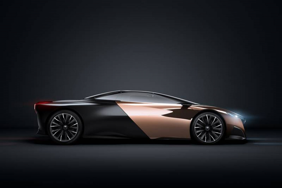 Peugeot गोमेद को नई
