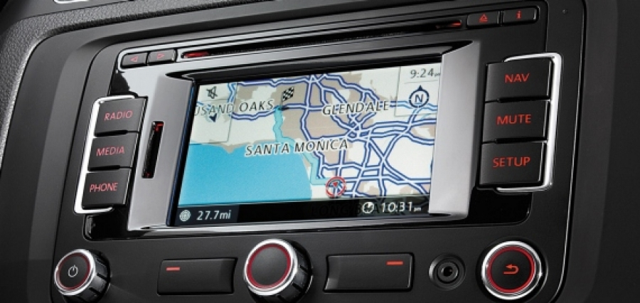 New navigation system RNS 315 for Polo, Jetta and Golf Plus
