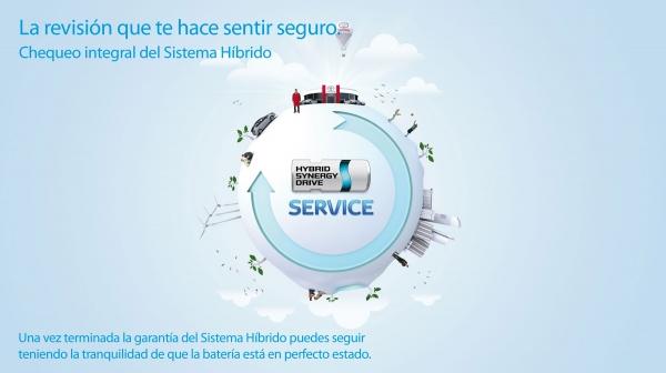 """Toyota annuncia """"'Integral System Check Hybrid"""" servizio"""