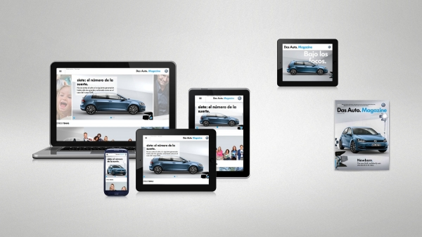 """Volkswagen estreia revista digital para seus clientes """", Das Auto. Magazine """""""