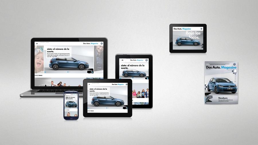 """Volkswagen fait ses débuts magazine numérique pour ses clients, """"Das Auto. Magazine """""""