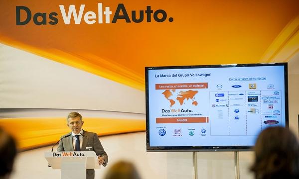 """Volkswagen voertuigen verkocht onder de merknaam """"Das WeltAuto"""""""