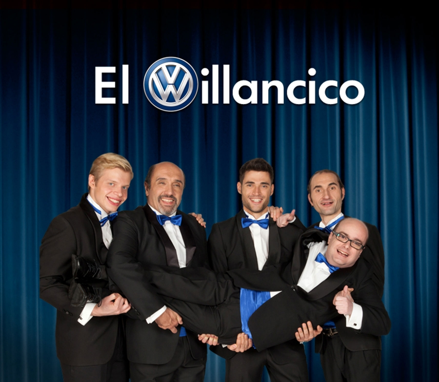 Volkswagen vous invite à féliciter les parties personnalisation d'un chant