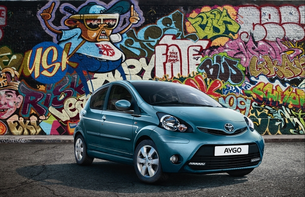 New Toyota Aygo Cool Soda Edition