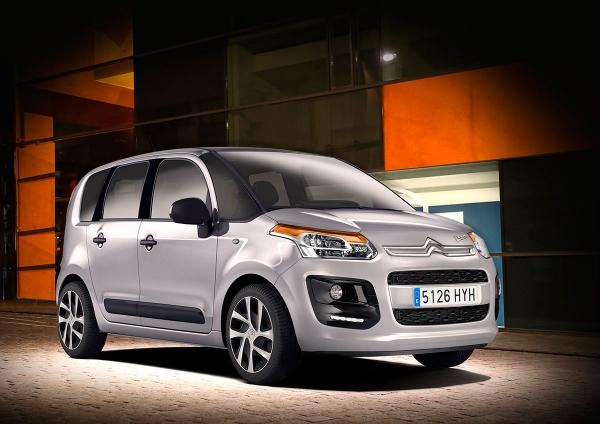 Citroën Picasso κάνει το ντεμπούτο του C3 Tonic