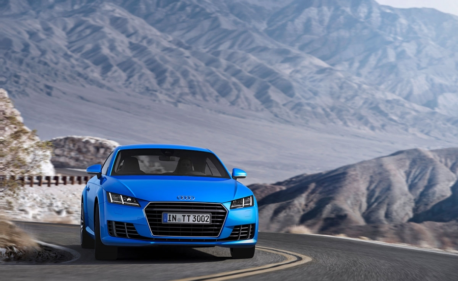 The third generation Audi TT Coupe will reach Spain in September