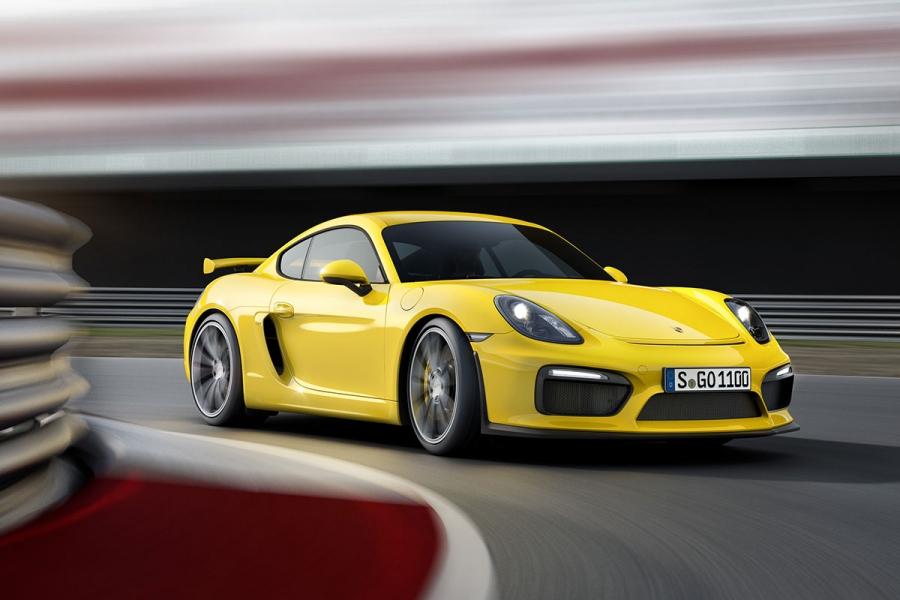 Új Porsche Cayman GT4