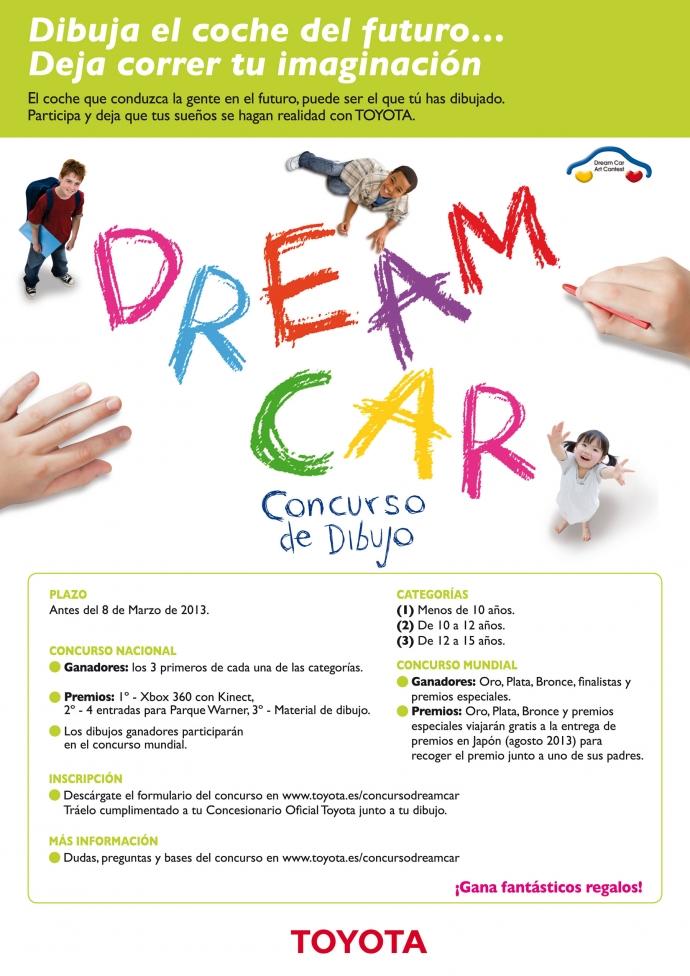 Teken de auto van uw dromen voor Toyota