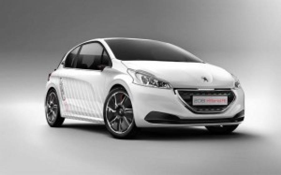 Peugeot नई एफई 208 संकर पेश करेंगे