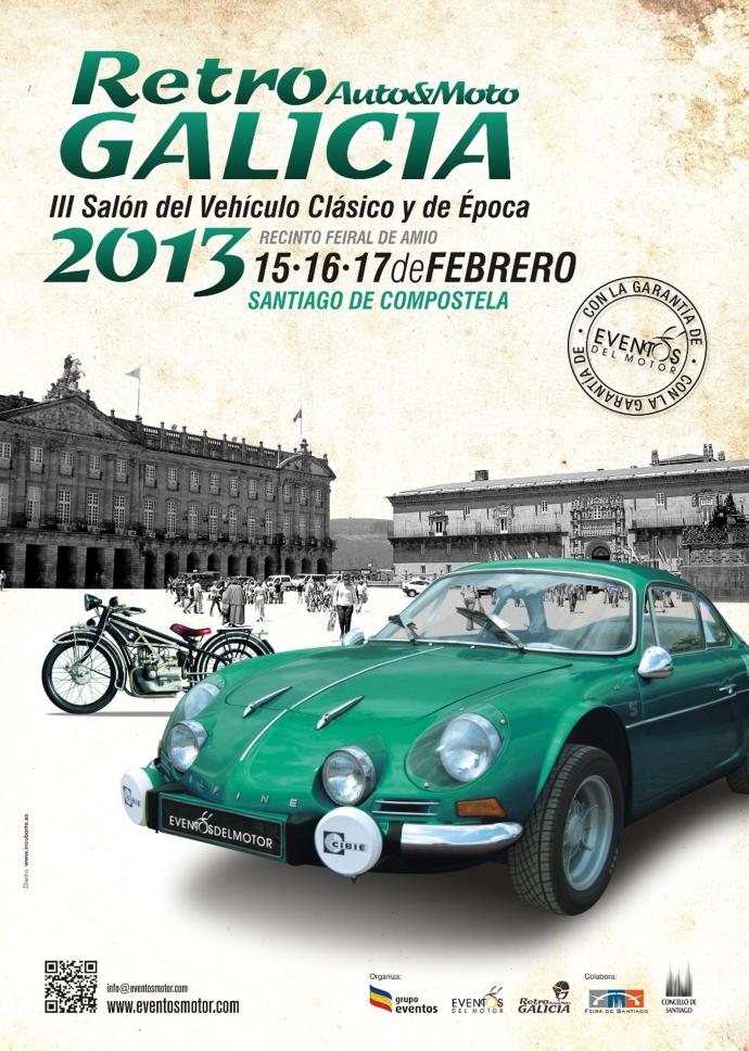 """""""ऑटो और रेट्रो Moto Galicia """" फ़रवरी हो जाता है"""