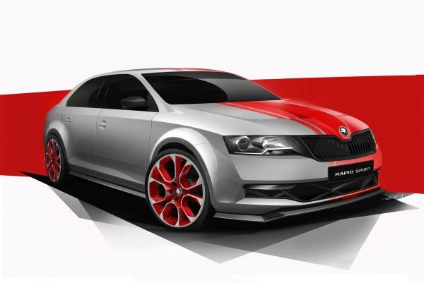 Svjetska premijera Škoda Rapid Prototip Sport