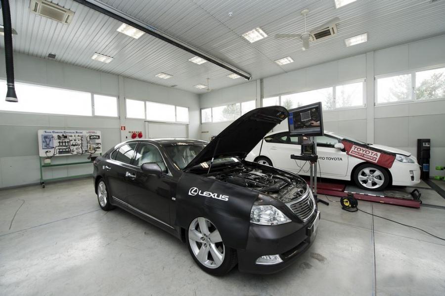 スペインの新しいトヨタトレーニングセンター